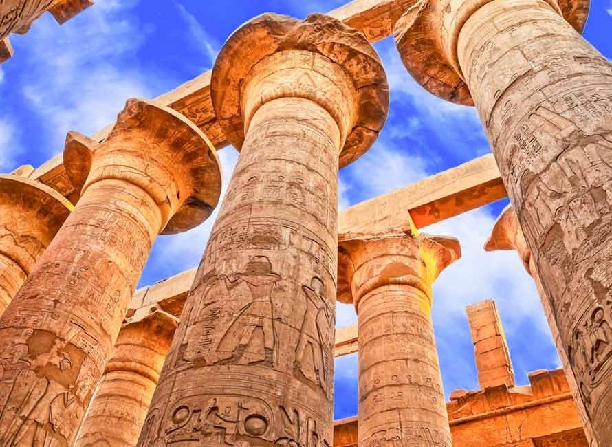 Egypt tours - ancient architecture.