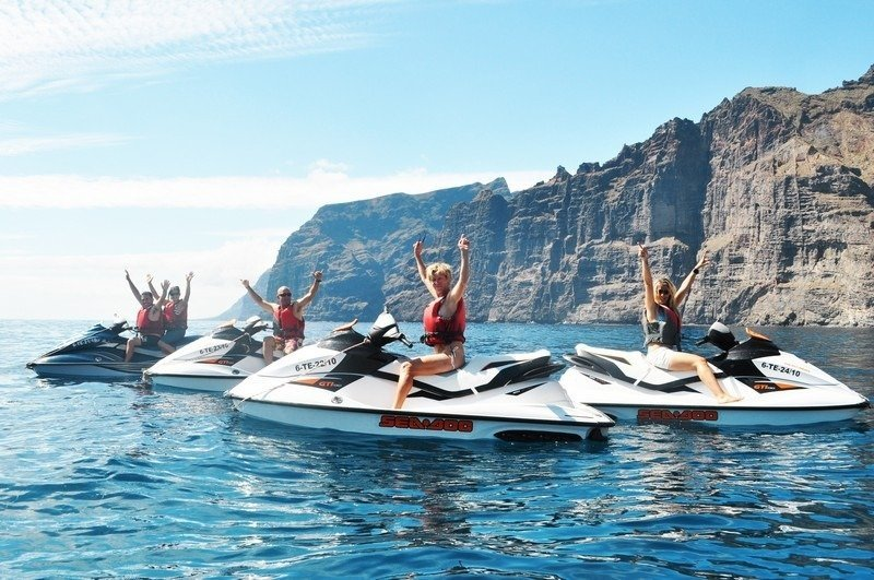 Costa Adeje things to do - Jet Ski tours