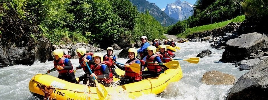 Things to do in Switzerland - rafting