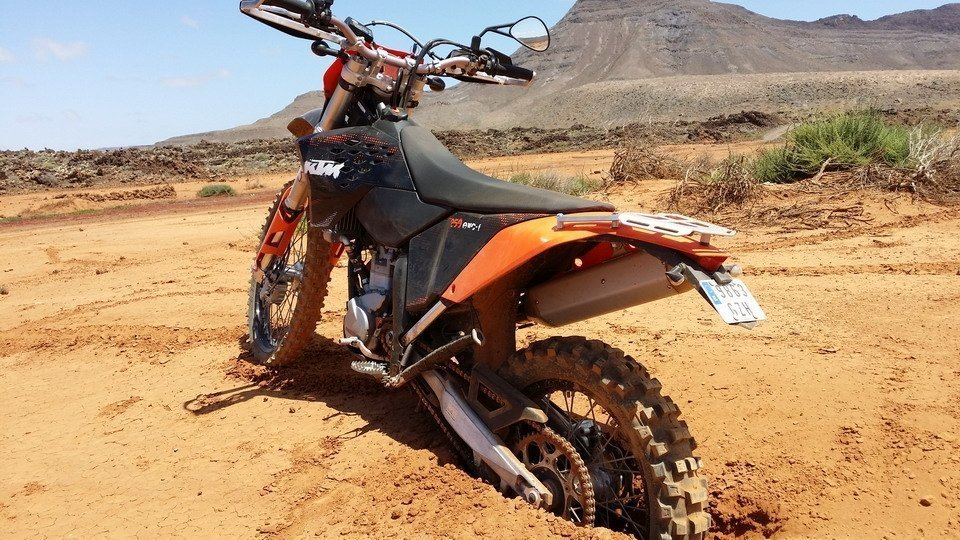 Fuerteventura things to do - Enduro Off-Road Motorbike Tour