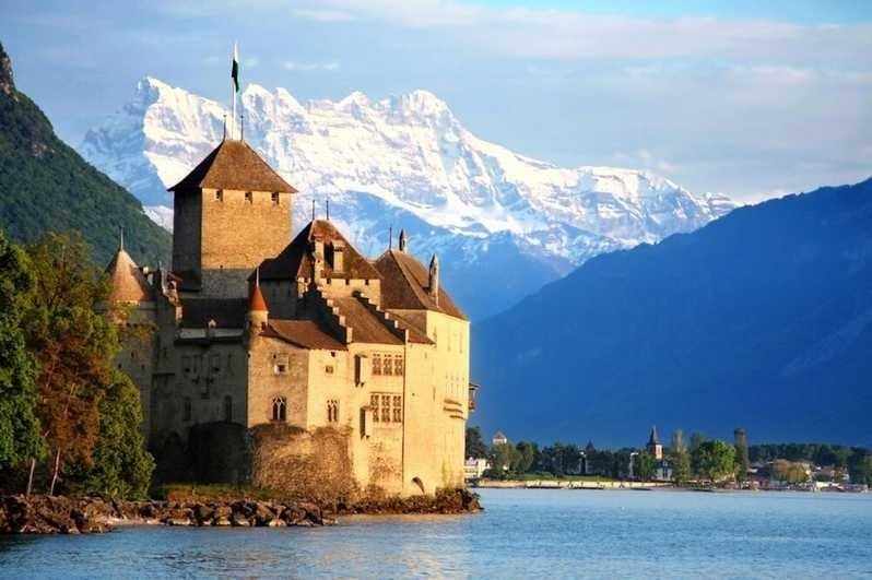 Things to do in Switzerland - Chateau de Chillon