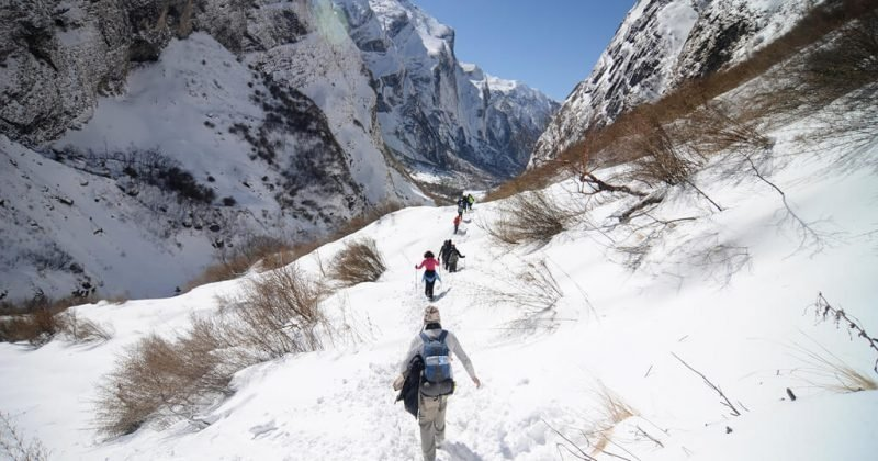 Hiking - is the obvious, if about things to do in Nepal