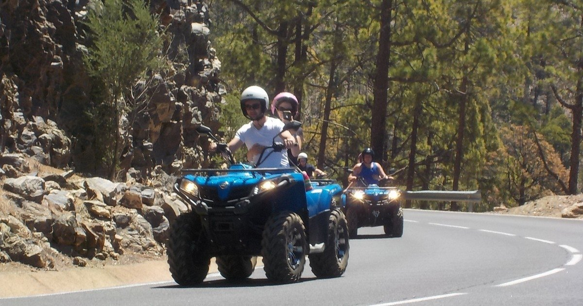 Quad Biking in Tenerife with perfect climate